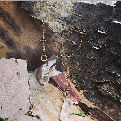Wild Goddess Crystal Earrings