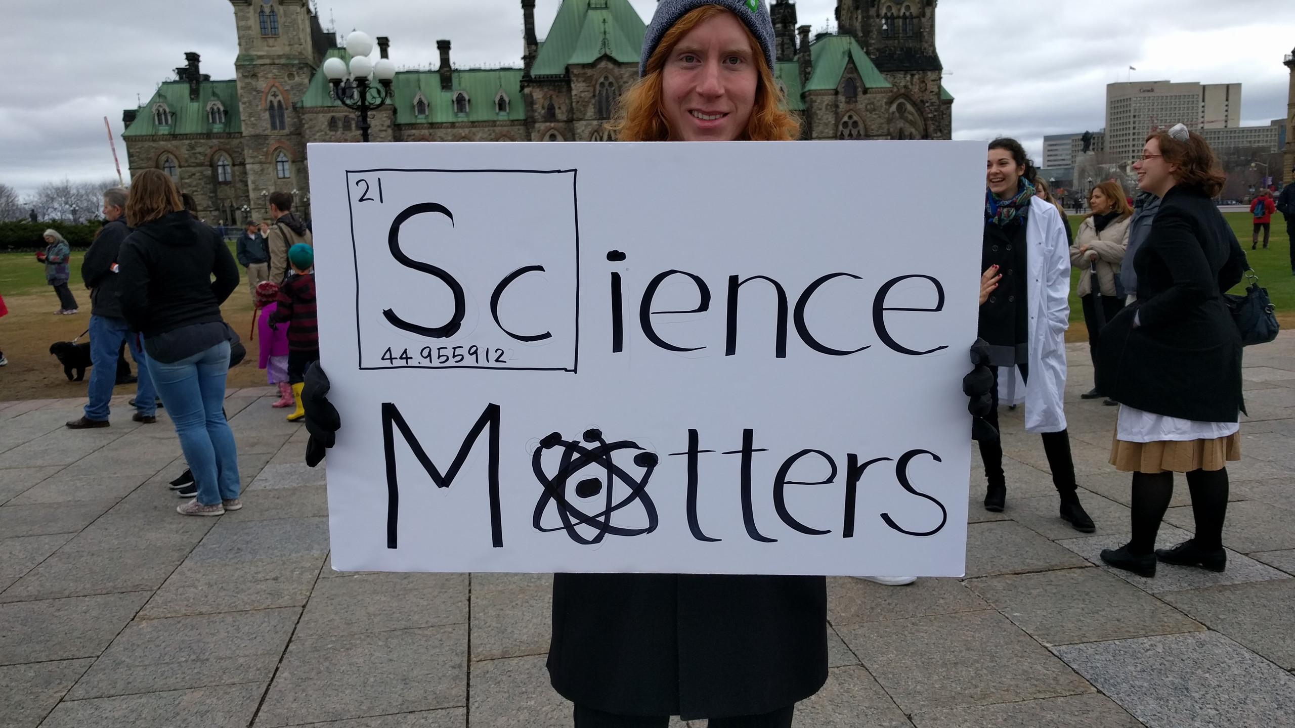 Science matters...