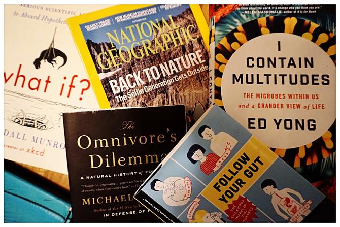 Books! Books! and more Books!