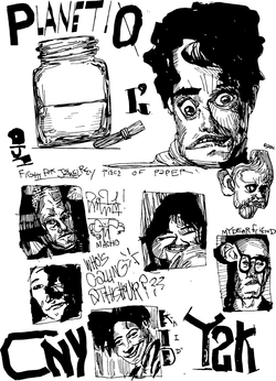 very random page of faces