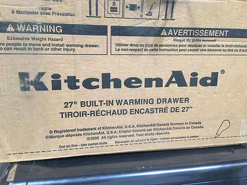 """Kitchen Aid 27"""" Built-In Warming Drawer"""