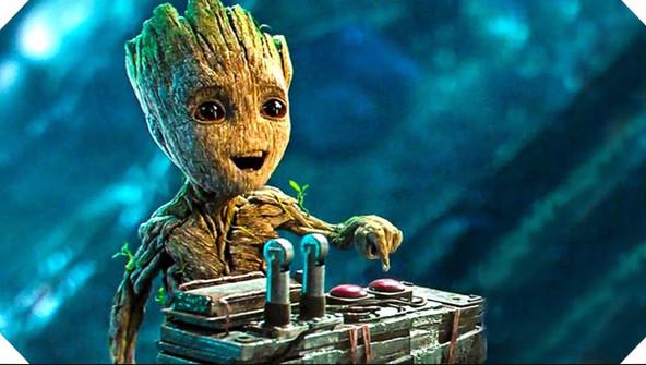 Groot, because he is cute