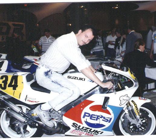 mid-1980's Kevin Schwantz GP bike