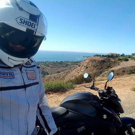Malibu ride on the GSX1000R