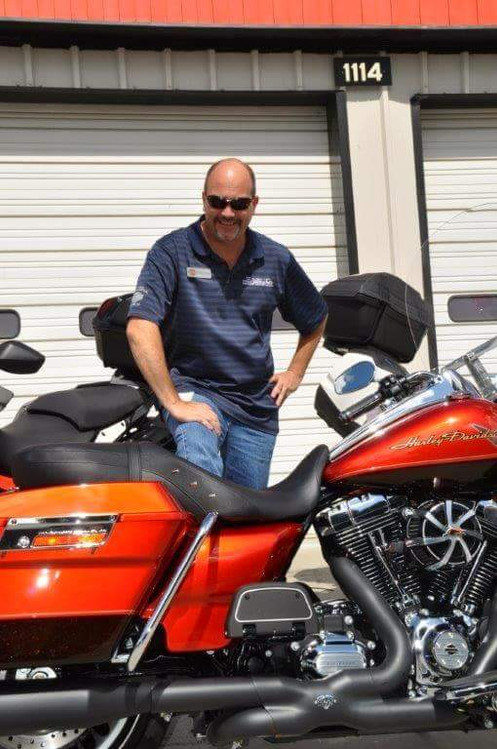 Ray Price Harley-Davidson promo shot