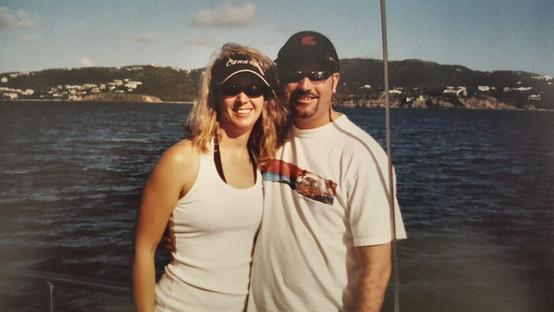 late 90's. Catalina bound