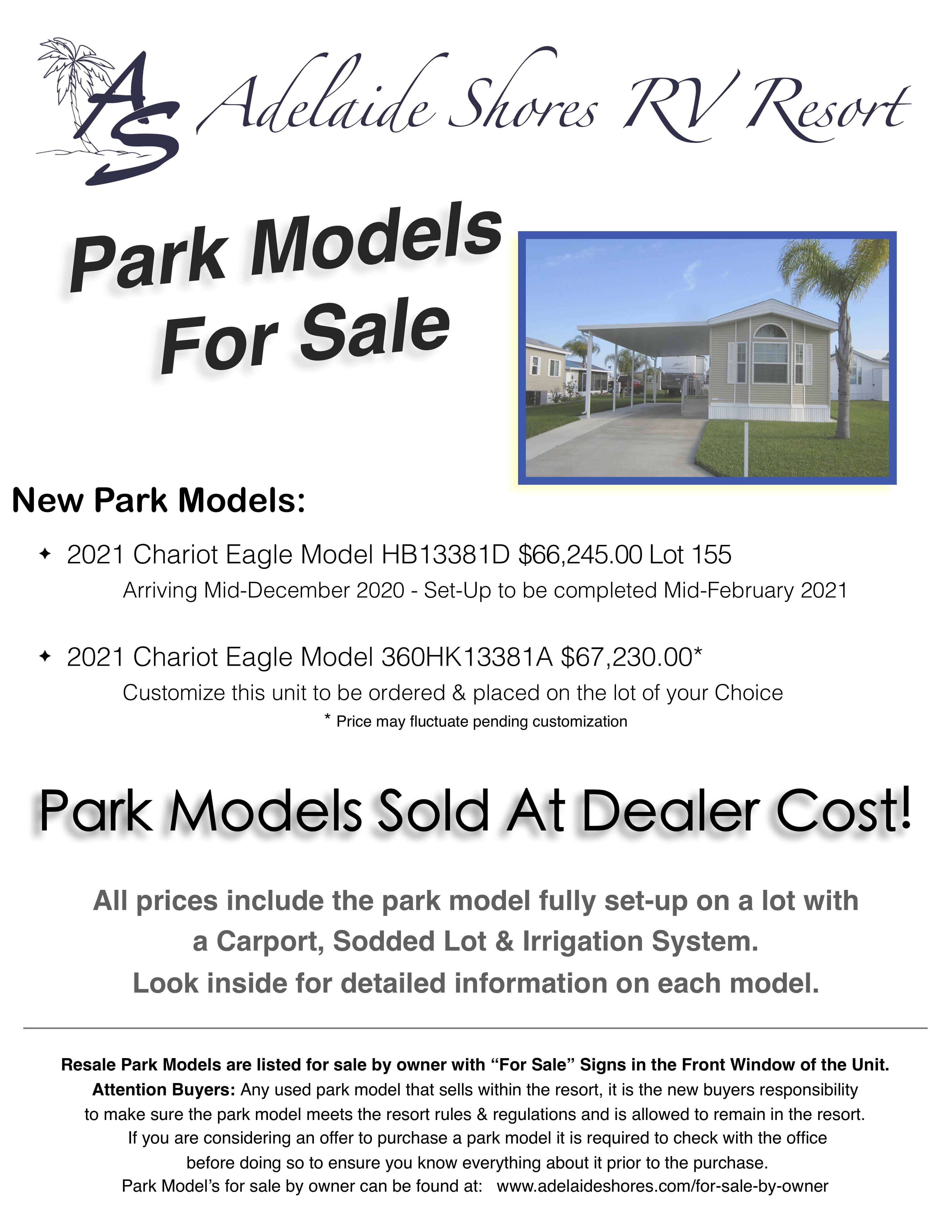 Park Models For Sale