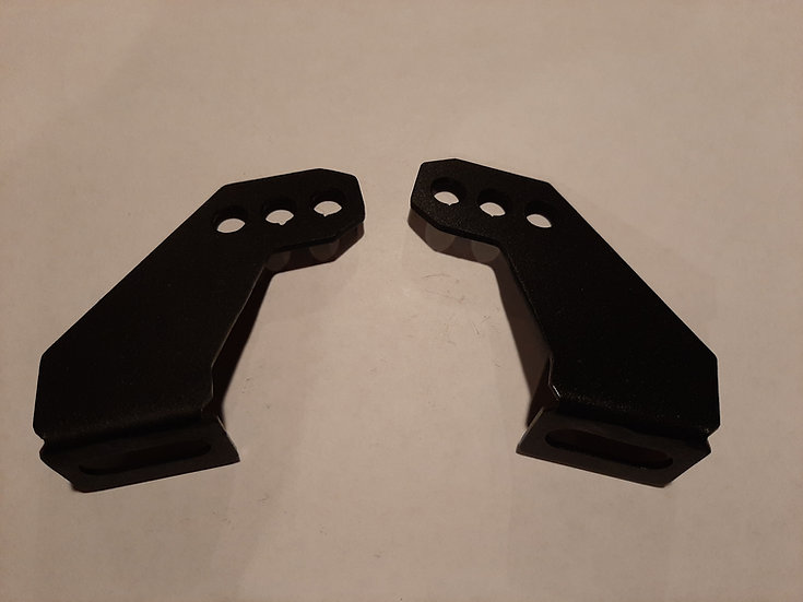 4-Way Adjustable Light Bar Mounting Brackets