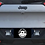 "Thumbnail: 2014 - 2018 Cherokee KL 20"" Pod Light Hood Mount & Rear Pod Light Bracket"
