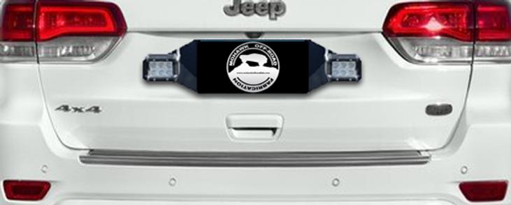 1993 - 2019 Jeep Grand Cherokee Rear Pod Light Mounting Bracket | Mohawk  Off-Road Fab