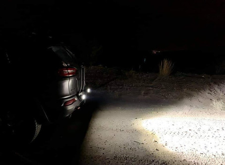 Cherokee KL with Rear Mount Pod Lights