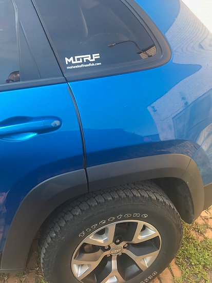 Decals MORF (Mohawk Off-Road Fab) Decal Set