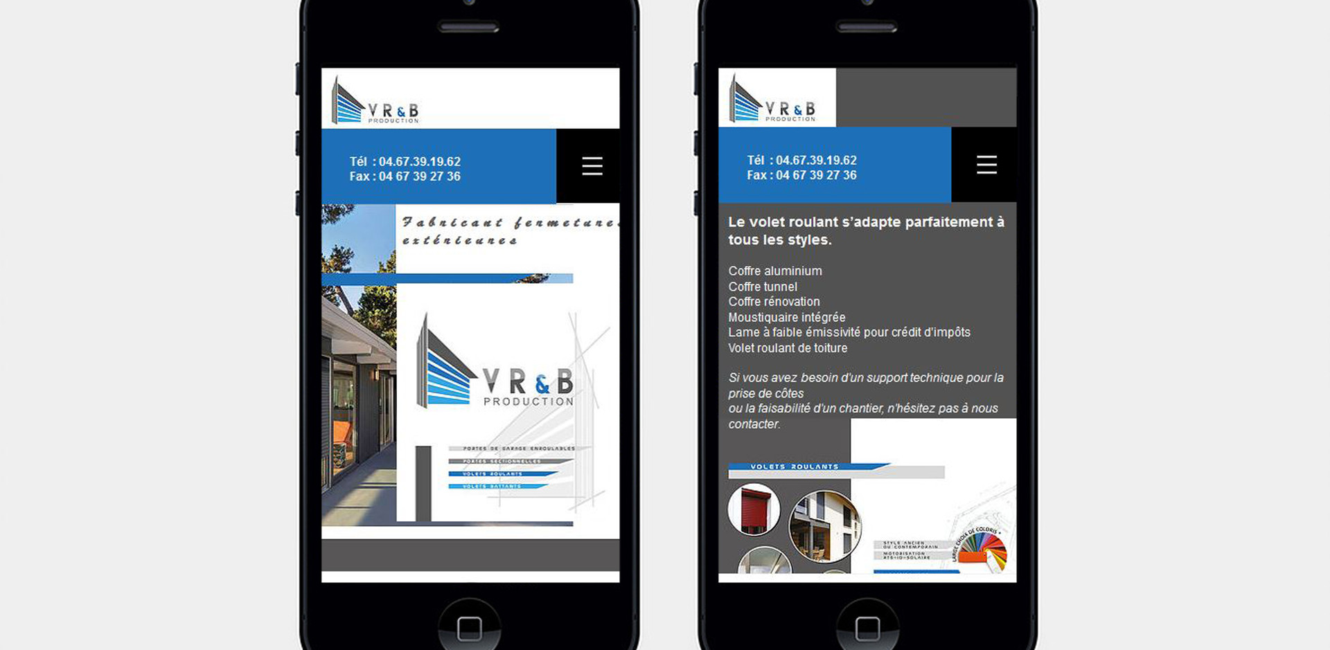 Webdesign mobile