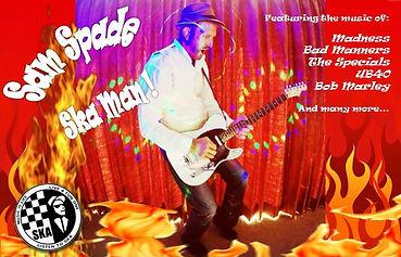 Sam Spade Ska and Reggae Solo Tribute