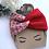 Thumbnail: Twisted strawberry shortcake headband/earwarmer