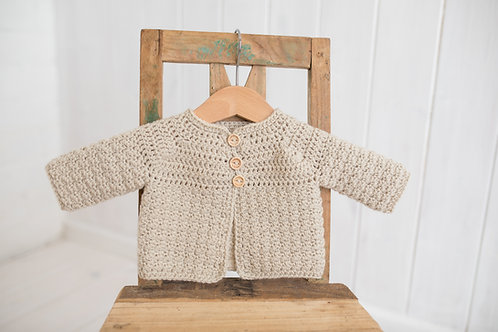Stone Crocheted Cardigan