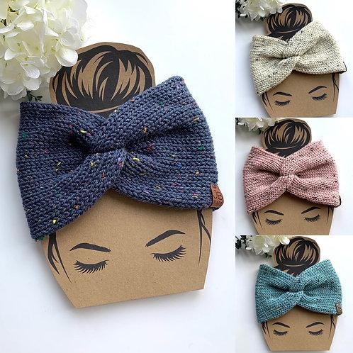 Twisted tweed effect  headband
