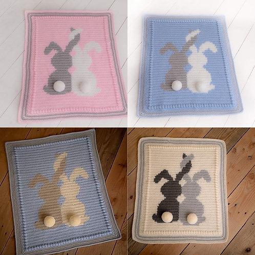 Bunny ears blanket