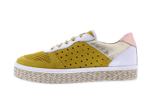 Ingel sneaker - 0340-107-137_2V0029 geel