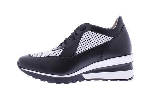 Angel sneaker - 0350-74-85_2V182 zwart-wit
