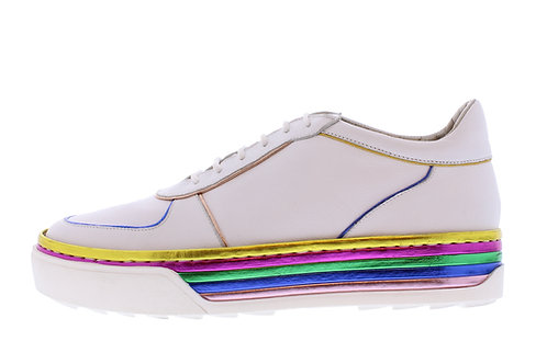 Roby sneaker - 9346-74-111 wit-roze