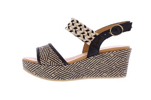 Bella sandaal - 0367-105-142_2V0020 zwart