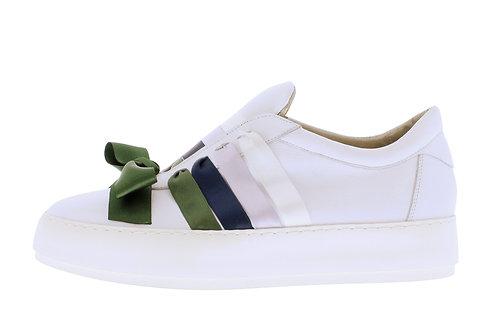 Vulcano sneaker - 9350-74-110 wit-groen
