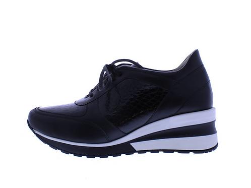 Angel sneaker - 0350-74-85_2V175 zwart combi