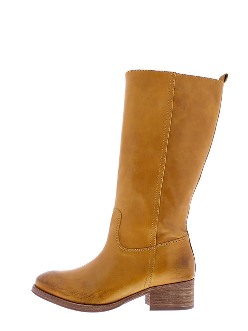 Fashion hoge laars - 9461-95-124_2V0043 Geel