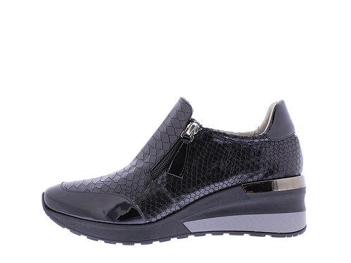 Angel sneaker - 9311-74-85_2V148 zwart snake