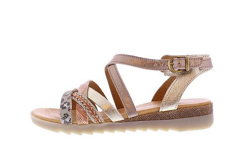 Kolanta sandaal - 0366-104-140_2V0019 brons-oranje