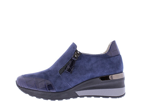 Angel sneaker - 9311-74-85_2V153 blauw croco
