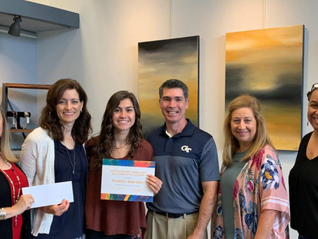 ART BEAT: North Gwinnett Arts Association honors Katelyn Sheridan with 2020 scholarship