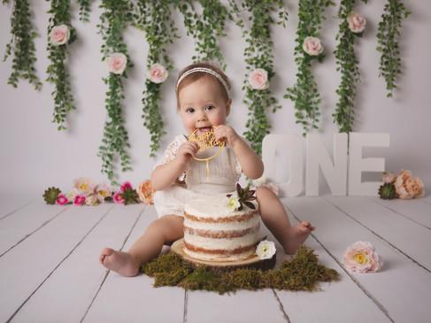 Séance Smash cake pour l'anniversaire de votre bébé !