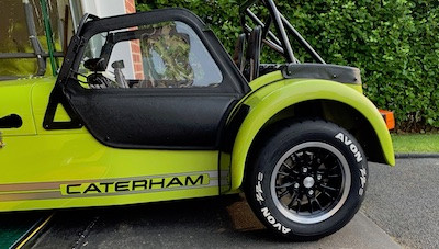 Caterham 7 blog Alloy wheel