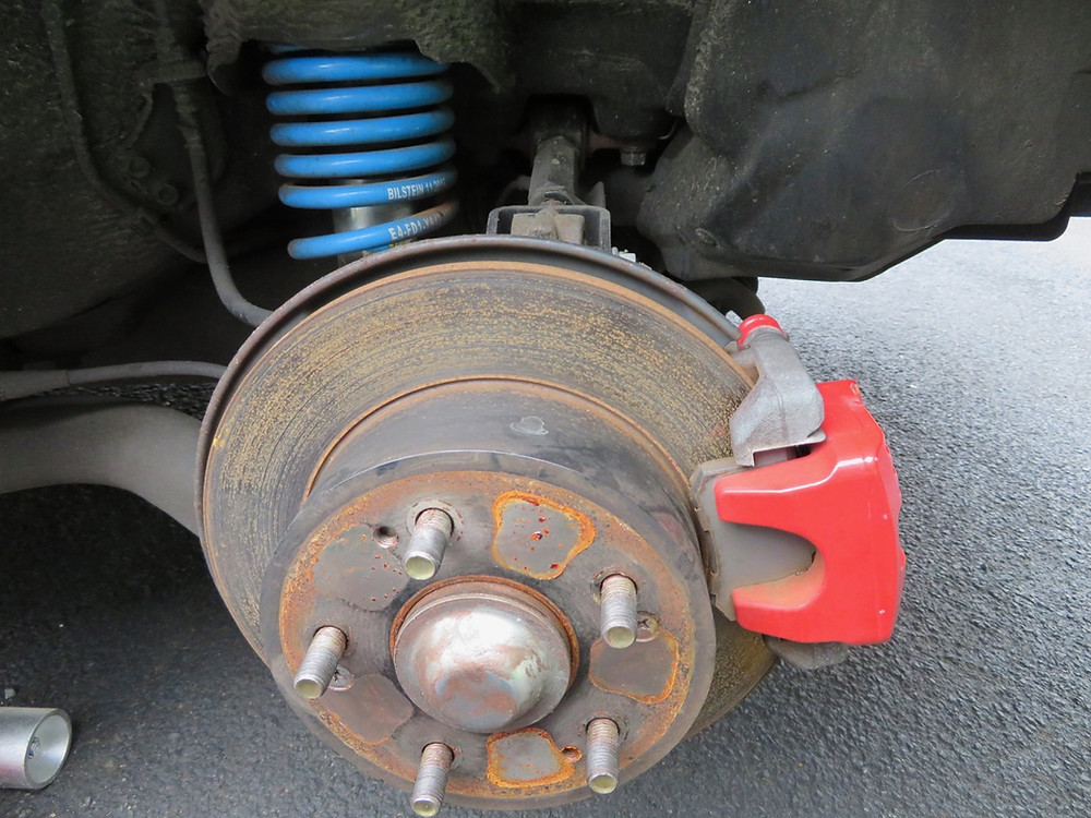 Honda Integra DC5 rear hub brake