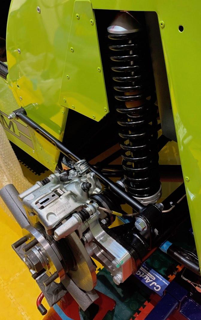 Caterham 7 Build Blog Rear Suspension Strut 7 420R