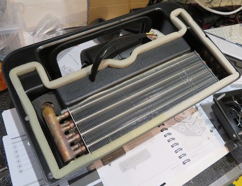 Caterham 7 build blog heater