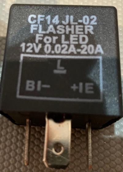 Just Add Lightness JAL CF14JL-02 Flasher for LED