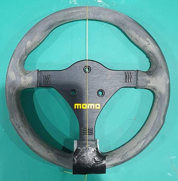 Caterham Seven 420R steering wheel blog racing