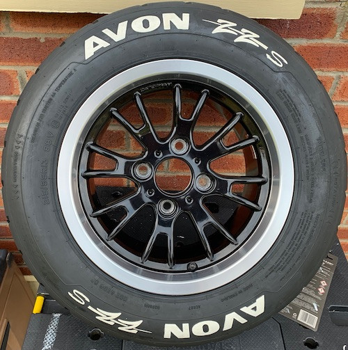 Caterham 7 Blog Alloy wheel painted