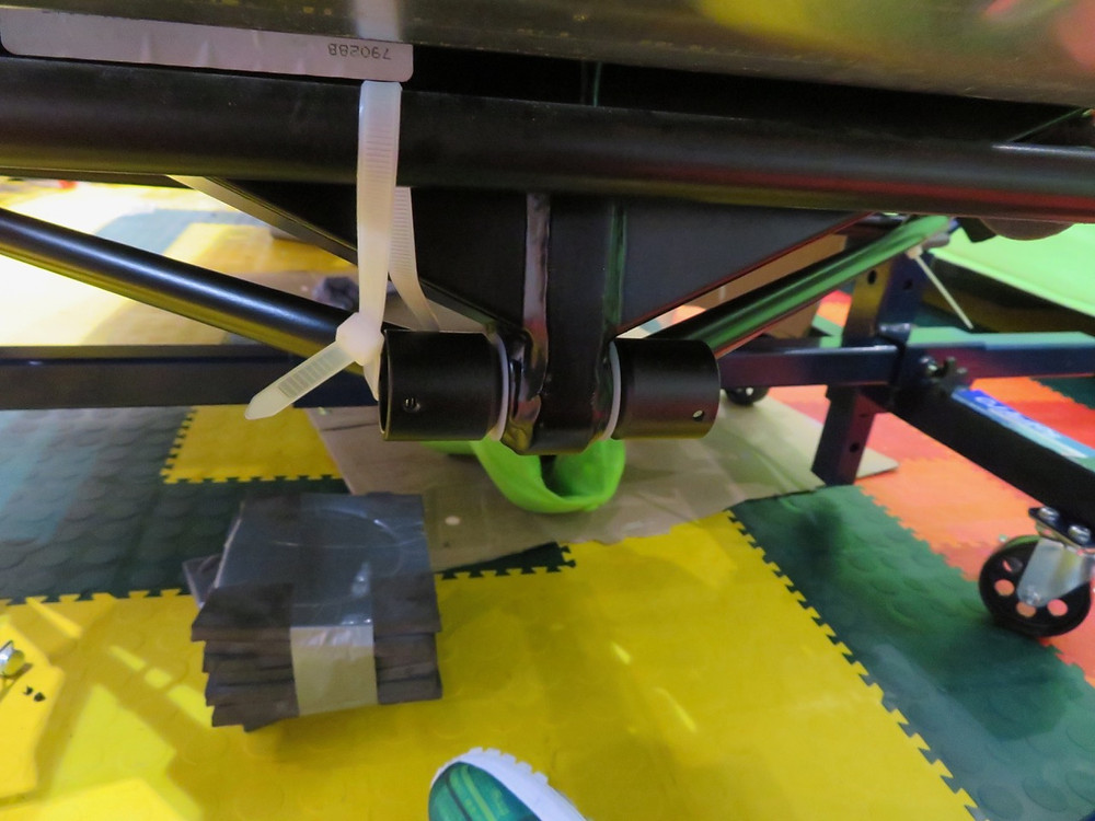 A Frame attached to DeDion tube