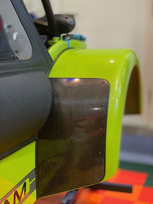 Caterham 7 build blog Rear wing