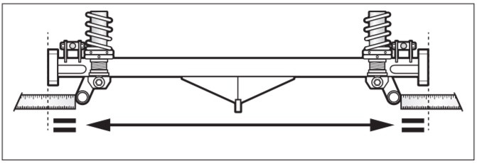 Dedion tube alignment