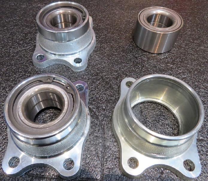 Caterham rear wheel bearing and hubs