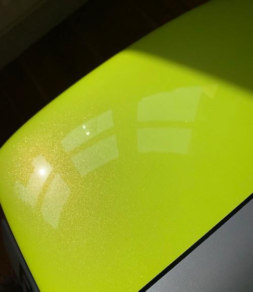 Caterham 7 Blog Toxic Green