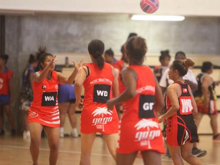 Gogo Cola Girls Netball Team!