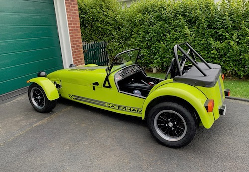 Caterham 7 Build Blog self-assembly IVA