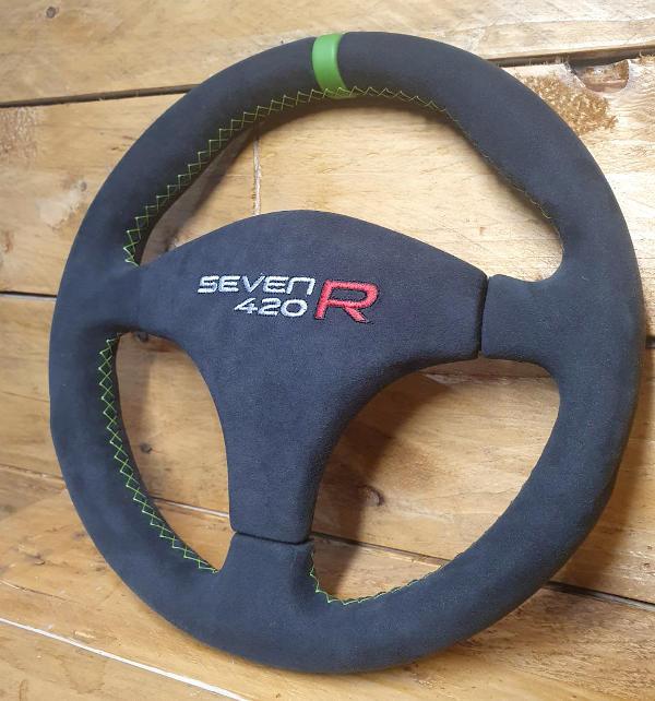 Caterham 7 KrossStitch wheel