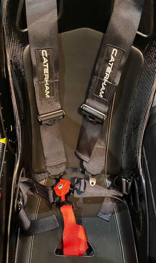 Caterham cars crutch strap 5 point harness